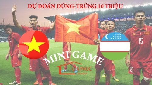 Mini game dự đoán kết quả trận chung kết U23 châu Á