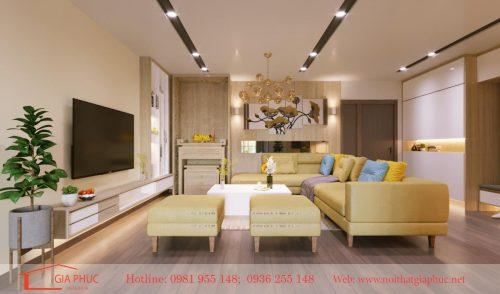 Thiết kế,thi công căn hộ 1003- Chung cư MHDI- 60 Hoàng Quốc Việt