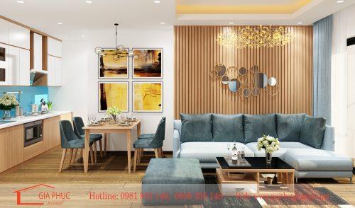 Thiết kế thi công căn hộ 1705-C3 D'Capitale Trần Duy Hưng