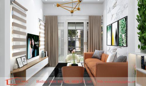 Thiết kế thi công nội thất nhà anh Vinh tại phố Xã đàn