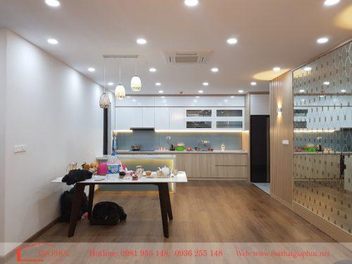 Hình ảnh thực tế căn hộ 1204 – Green Star Long Biên