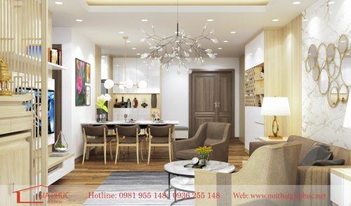 Thiết kế nội thất căn hộ 1004-N03T3A-Ngoại giao đoàn