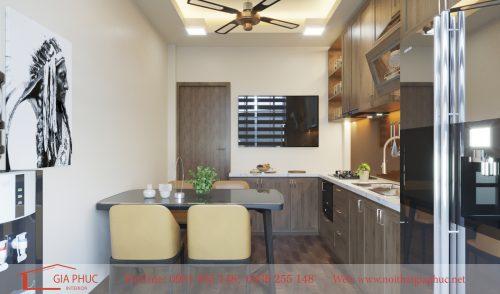 Thiết kế và thi công nội thất nhà phố Nam Đồng