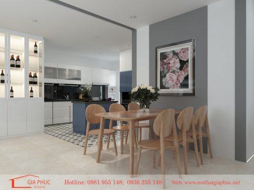 Thiết kế nội thất căn hộ Ngoại giao đoàn(N03T3-NGĐ)