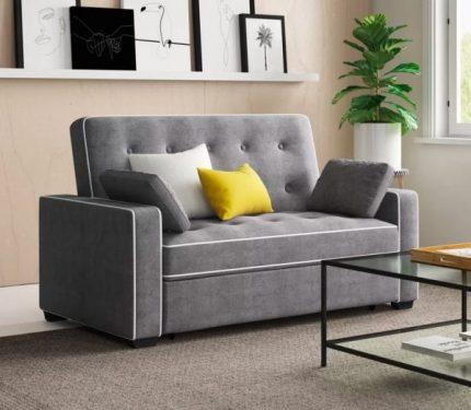 Những kiểu giường sofa tích hợp cho phòng khách hiện đại