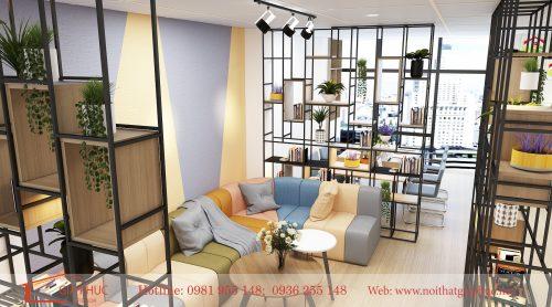 Thiết kế nội thất Văn phòng công ty BĐS Tây Bắc
